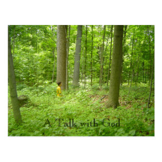 Pic085の神との話 ポストカード