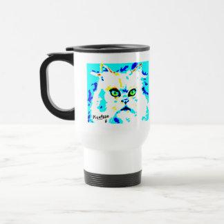 Picattsoの山猫のタンブラー トラベルマグ