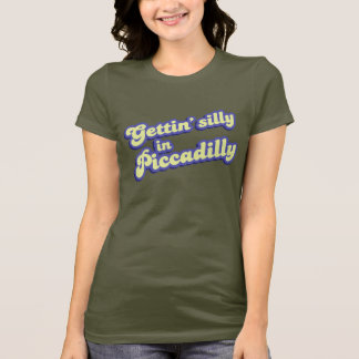 Piccadillyで間抜けなGetting Tシャツ