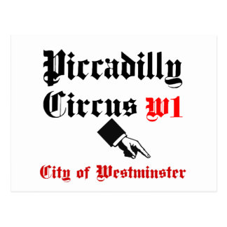 Piccadillyのサーカス ポストカード