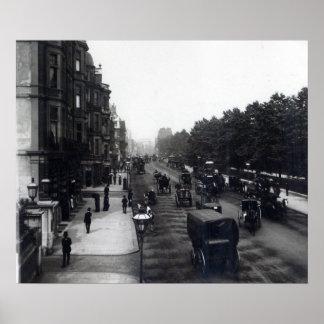 Piccadilly、ロンドン ポスター