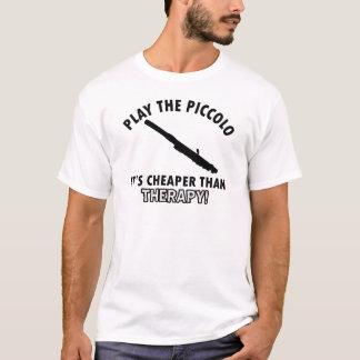 piccoloセラピーのデザイン tシャツ