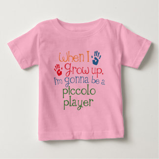 Piccoloプレーヤー(未来)の子供 ベビーTシャツ