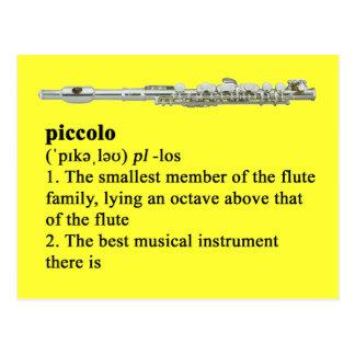Piccolo定義 ポストカード