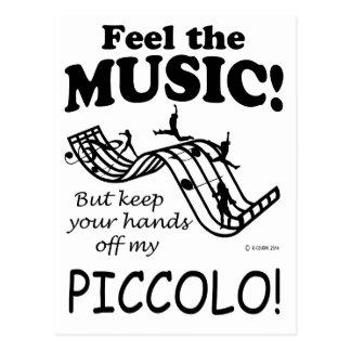 Piccolo感じ音楽 ポストカード