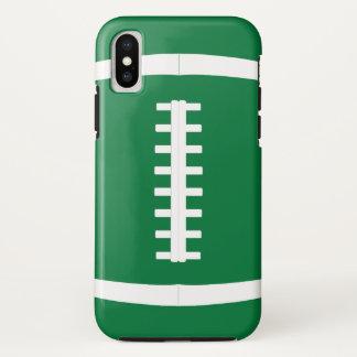 Pick Any Team Color Custom Football Player iPhoneX iPhone X ケース