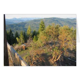 Pickettのビュートの火の眺望 カード