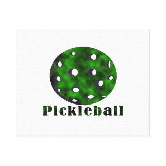 pickleballによって曇らせている文字nの球green.png キャンバスプリント