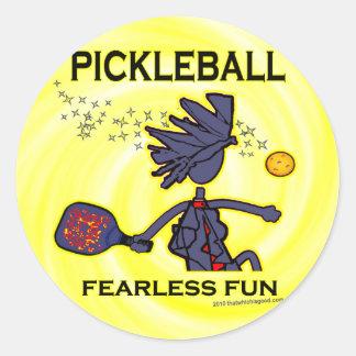 Pickleballの大胆不敵なおもしろい ラウンドシール