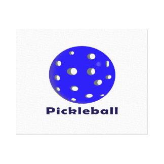pickleballの文字n青いball.png キャンバスプリント
