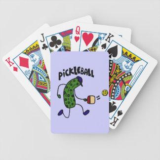 Pickleballを遊ぶおもしろいなピクルス バイスクルトランプ
