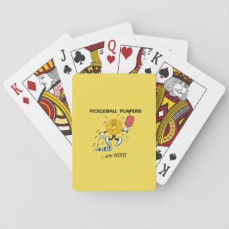 Pickleballプレーヤーは熱いカードです トランプ