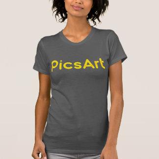 PicsArtのTシャツ Tシャツ