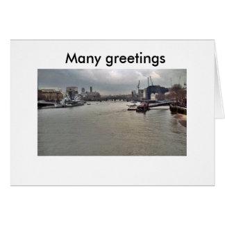 PICT0052 5X5の多くの挨拶、多くの挨拶 カード