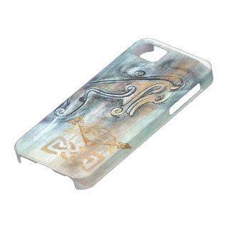 Pictishケルト族の獣の電話箱 iPhone SE/5/5s ケース