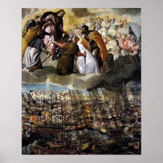 Pictura de Lepanto 1571年 ポスター
