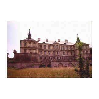 Pidhirtsiの城 キャンバスプリント