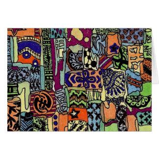 Piecie-Piecieのアートワークカードブランク カード