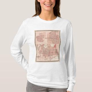 Piercetonのワルシャワ、プリマスの計画 Tシャツ