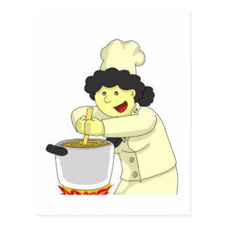 Pierinaの調理師 ポストカード