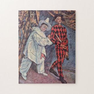 Pierrotおよび道化師 ジグソーパズル