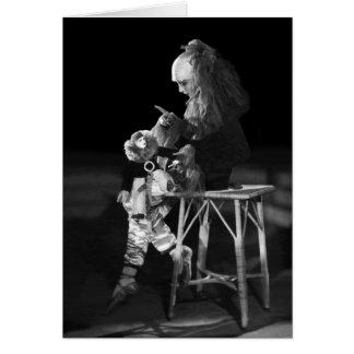 Pierrotの衣裳のガートルードローレンス カード