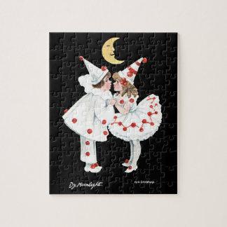 Pierrot子供のパーティの衣裳のピエロ ジグソーパズル