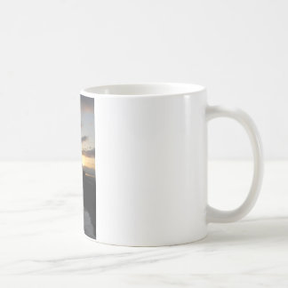 PierSunset041609a コーヒーマグカップ