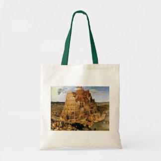 "Pieter Bruegelの""バベルの塔"" (1563年頃) トートバッグ"