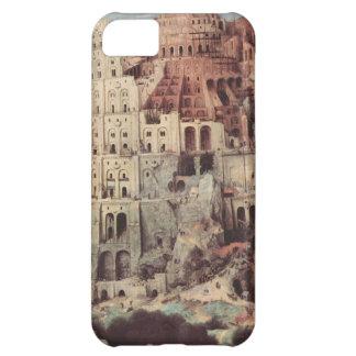 - Pieter Bruegelバベルの塔年長者 iPhone5Cケース