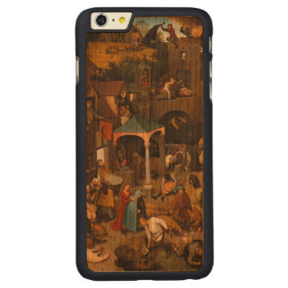 Pieter Bruegel年長者-オランダの諺 CarvedチェリーiPhone 6 Plusスリムケース