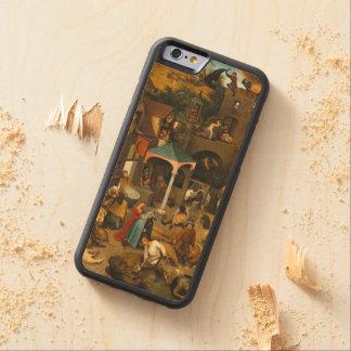 Pieter Bruegel年長者-オランダの諺 CarvedメープルiPhone 6バンパーケース