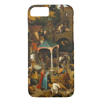 Pieter Bruegel年長者-オランダの諺 iPhone 8/7ケース