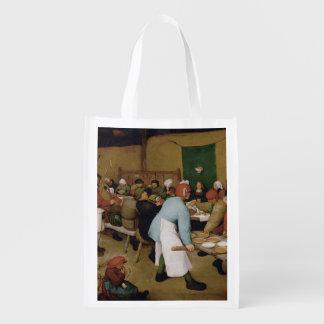 Pieter Bruegel年長者-小作農の結婚式 エコバッグ