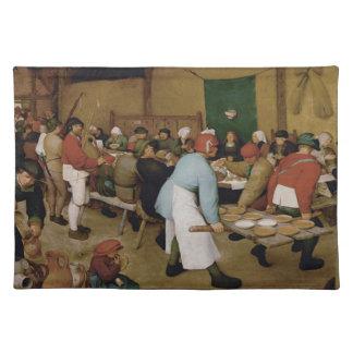 Pieter Bruegel年長者-小作農の結婚式 ランチョンマット