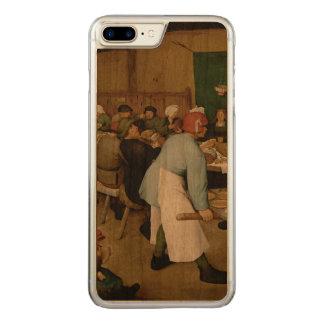 Pieter Bruegel年長者-小作農の結婚式 Carved iPhone 8 Plus/7 Plus ケース