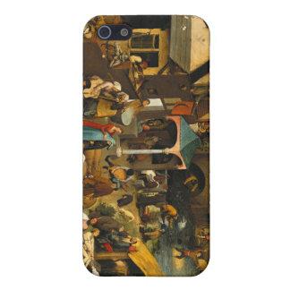 Pieter Bruegel年長者- Netherlandishの諺 iPhone 5 カバー