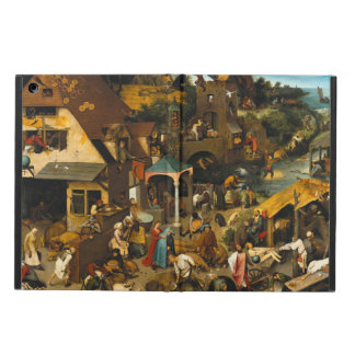 Pieter Bruegel著オランダの諺年長者 iPad Airケース