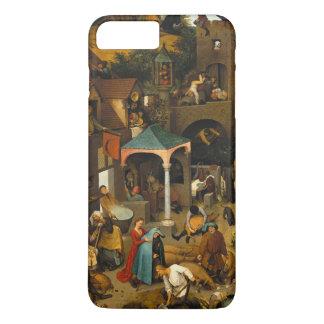 Pieter Bruegel著オランダの諺年長者 iPhone 8 Plus/7 Plusケース
