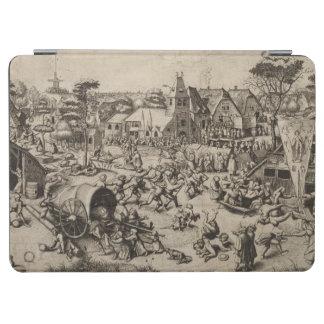 Pieter Bruegel著セントジョージの日の市 iPad Air カバー