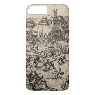 Pieter Bruegel著セントジョージの日の市 iPhone 8 Plus/7 Plusケース