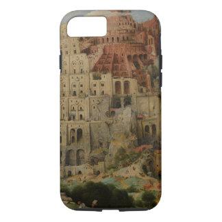 Pieter Bruegel著バベルの塔年長者 iPhone 8/7ケース