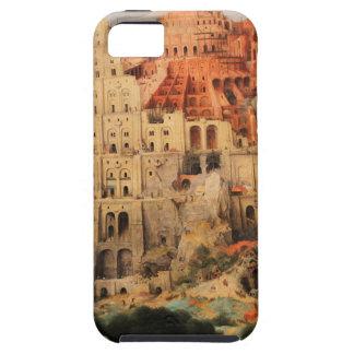 Pieter Bruegel著バベルの塔年長者 iPhone SE/5/5s ケース