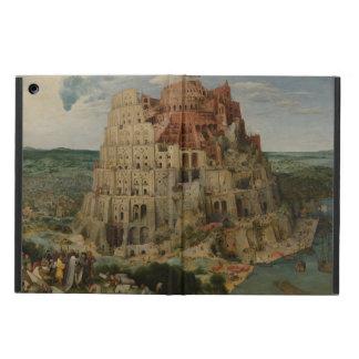 Pieter Bruegel著バベルの塔 iPad Airケース