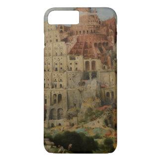 Pieter Bruegel著バベルの塔 iPhone 8 Plus/7 Plusケース