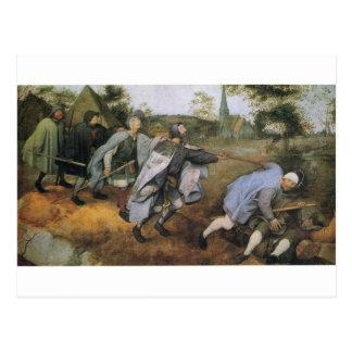 Pieter Bruegel著ブラインドの喩え年長者 ポストカード