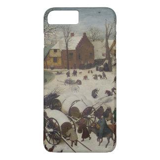 Pieter Bruegel著ベスレヘムの人口調査 iPhone 8 Plus/7 Plusケース