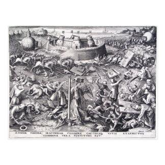 Pieter Bruegel著勇気年長者 ポストカード