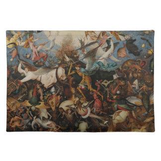 Pieter Bruegel著反逆の天使の秋 ランチョンマット