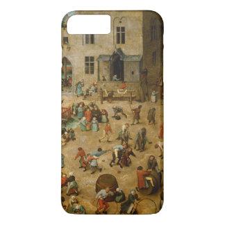 Pieter Bruegel著子供のゲーム年長者 iPhone 8 Plus/7 Plusケース